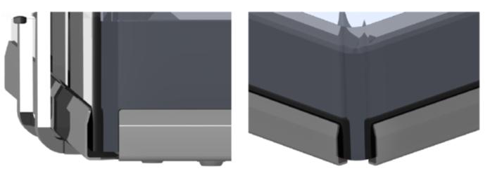 Romotop Angel - инновационный способ закрепления стекла вне ребра