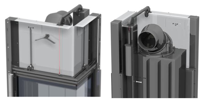 Romotop Angel - новая система подвешивания дверцы на оси